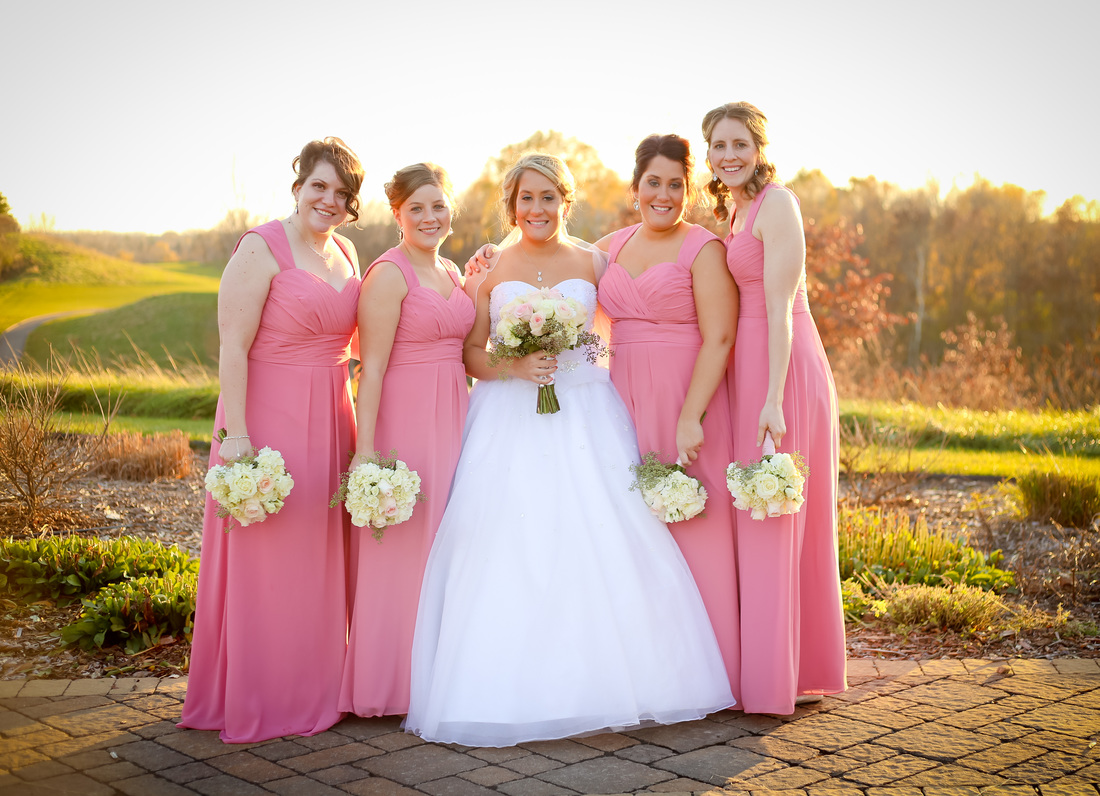 Tartan Park Lake Elmo Wedding Bridesmaid Photography