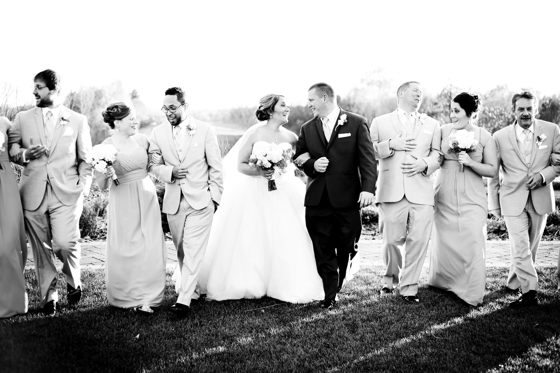 Tartan Park Lake Elmo Wedding Party Photography