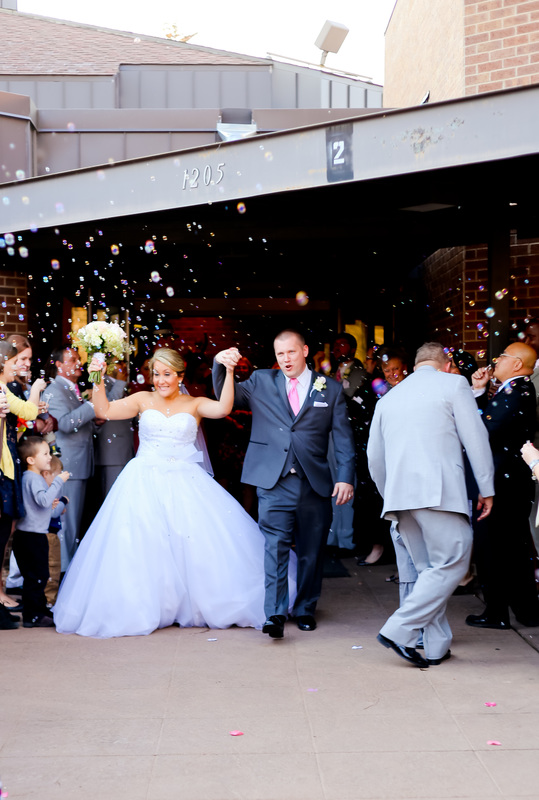 Tartan Park Lake Elmo Wedding Bubble blowing reception Bride and Groom Portraits Photography