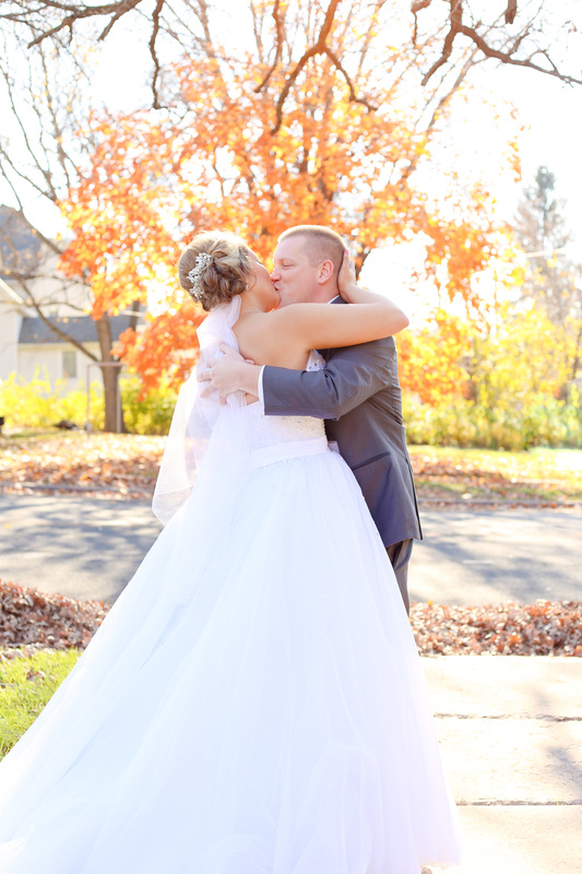 Tartan Park Lake Elmo Fall Wedding Photographer