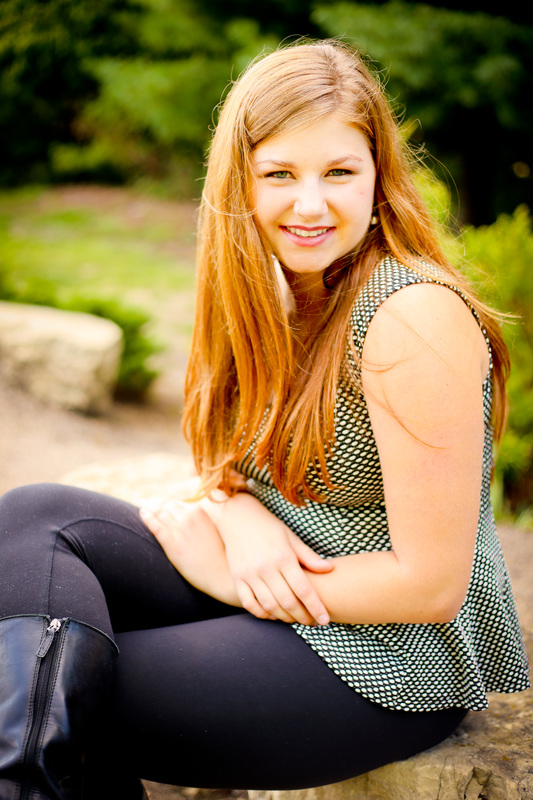 Outdoor rustic senior portrait session in New Berlin, WI by Kelsey Jorissen Photography
