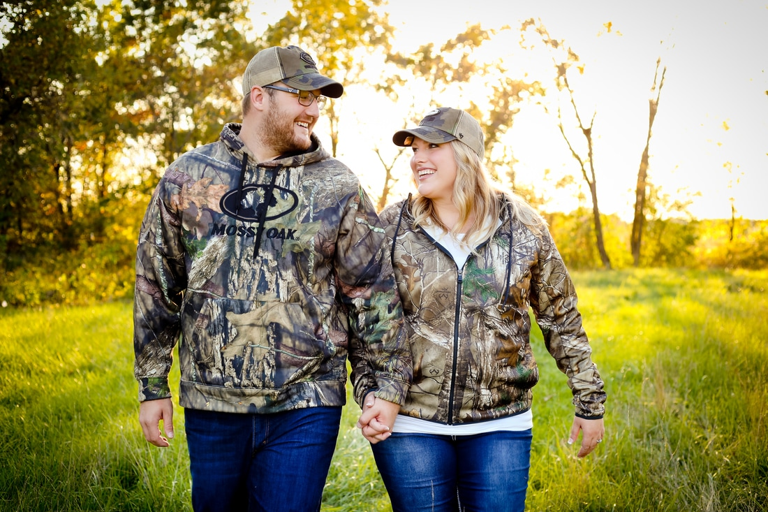Best hunting themed engagement portraits for 2016 in Milwaukee, WI