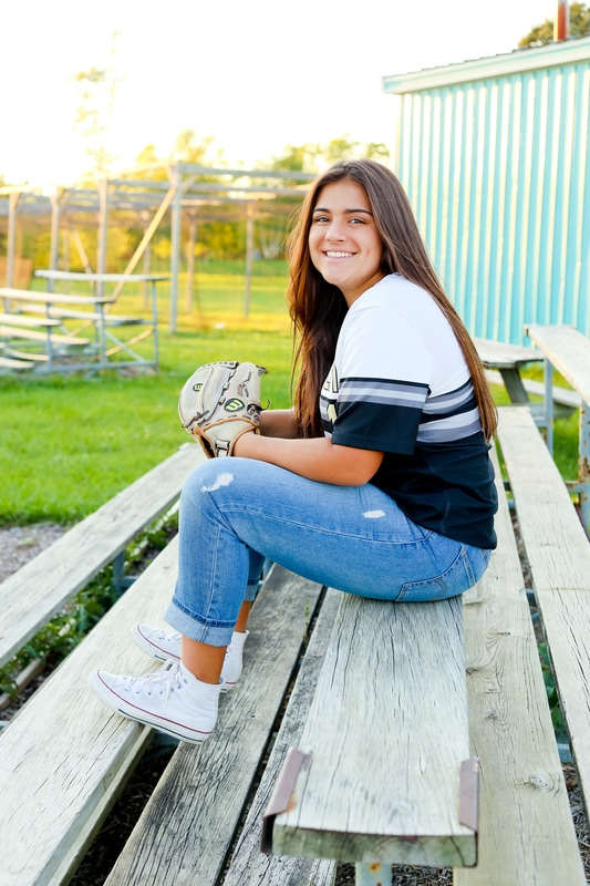 Best sport themed senior portraits of 2016 in Milwaukee WI