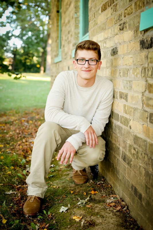 Best Rustic Senior Portraits of 2016 Franklin, WI