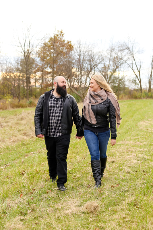 Couples portraits, in Franklin, WI by Kelsey Jorissen photography