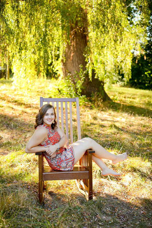 Franklin WI Senior Portrait Photography Outdoor Session