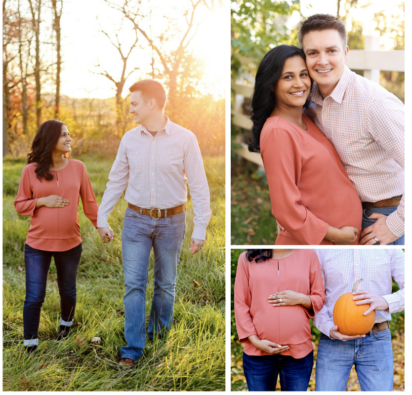 The Fall Mini Session is perfect for maternity portraits, pet portraits, and family portraits.